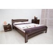 Кровать МеблиЕко Милана люкс с фрезеровкой 160х200 см (101434)