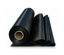 Пленка полиэтиленовая для строительных работ 18 кг 60х100х1500 мм черная