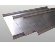 Изготовление отливов из оцинкованной стали
