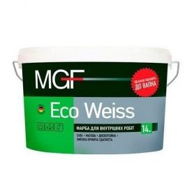 Краска интерьерная MGF Eco Weiss М1 14 кг