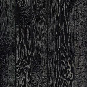 Паркетна дошка DeGross Дуб чорний з білим протертий 1200х100х15 мм