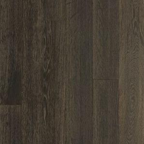 Паркетна дошка DeGross Дуб чорний з золотом браш 1200х120х15 мм