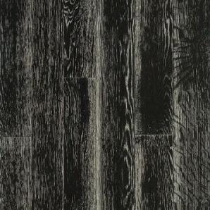 Паркетна дошка DeGross Дуб чорний з білим браш лак 1200х120х15 мм