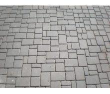 Тротуарная плитка Старый город Эконом 30 мм серая