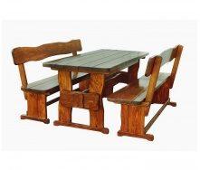 Комплект деревянной мебели для бани и сауны