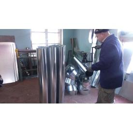 Изготовление вентиляционных систем из оцинкованной стали