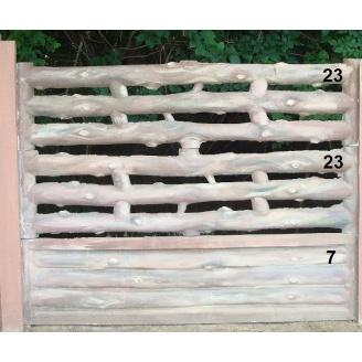 Комплект Євро Бетонний паркан 16