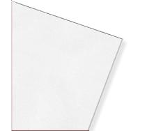 Акустична мінеральна стельова плита AMF Thermatex Thermofon біла 600х600х15 мм