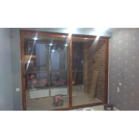 Раздвижные окна из алюминия Алютех