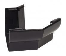 Угол желоба 135° внешний Nicoll 28 OVATION 125 мм черный