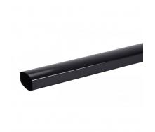 Труба водосточная Nicoll 28 OVATION 80 мм черный