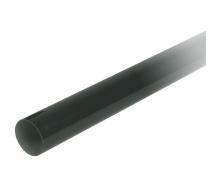 Труба водосточная с муфтой Nicoll 80 мм черный