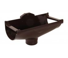 Воронка компенсирующая Nicoll 29 VODALIS D80 коричневый