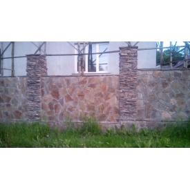 Будівництво паркану з облицювального каменю