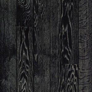 Паркетна дошка DeGross Дуб чорний з білим протертий 500х100х15 мм