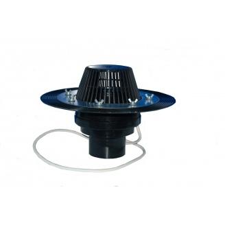 Покрівельна воронка Термо ВК 110 з притискним фланцем 100 мм