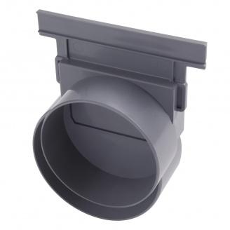 Відвід/заглушка Nicoll CONNECTO для системи 130 110 мм