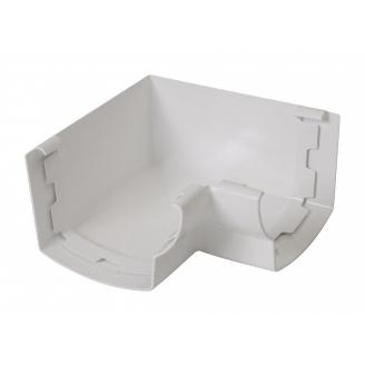Угол желоба 90° внутренний Nicoll 28 OVATION 125 мм белый