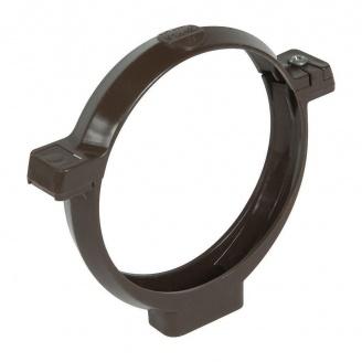 Кронштейн трубы Nicoll 33 коричневый