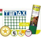 Сетка полимерная TENAX Квадра 10 1х50 м зеленая