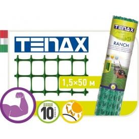 Сетка полимерная TENAX Ранч-1 1,5х50 м зеленая
