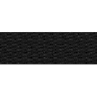 Плитка Opoczno Pret a Porter black textile G1 25x75 см