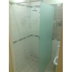 Стеклянная перегородка в ванной 8 мм