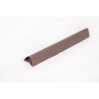 Угол внутренний ПВХ Next Level Plast 3 м коричневый