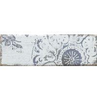 Плитка декоративная Paradyz Rondoni Blue Inserto Struktura C 98х298х7 мм