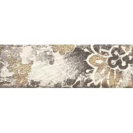 Плитка декоративна Paradyz Rondoni Bianco Inserto Struktura D 98х298х7 мм