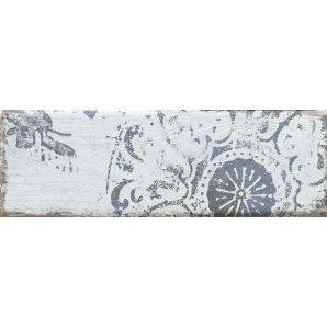 Плитка декоративна Paradyz Rondoni Blue Inserto Struktura C 98х298х7 мм