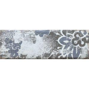 Плитка декоративна Paradyz Rondoni Blue Inserto Struktura D 98х298х7 мм