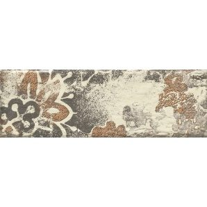 Плитка декоративна Paradyz Rondoni Beige Inserto Struktura D 98х298х7 мм