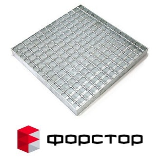 Сварной решетчатый настил 1000х1000 мм