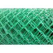 Сетка Рабица ПВХ 2,8х50 мм 1,5 м зеленая