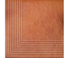 Ступень угловая Opoczno Solar steptread corner structure G1 30х30 см orange
