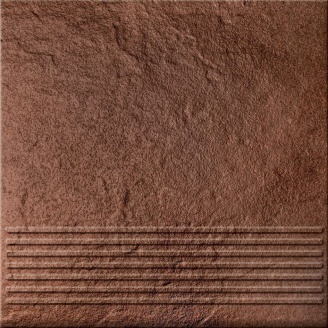 Ступень Opoczno Solar steptread structure G1 30х30 см brown