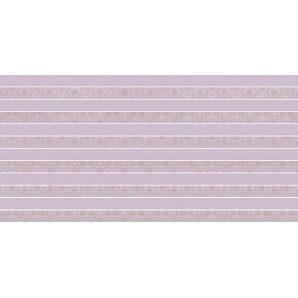 Плитка декоративна Paradyz Piumetta Viola Inserto Paski 295х595х11 мм