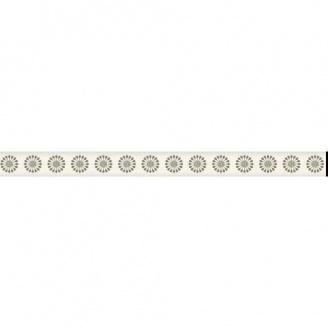 Фриз Paradyz Piumetta Bianco Murano 23х295х12 мм