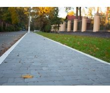 Тротуарная плитка Старый город 40 мм серая