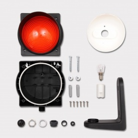 Лампа сигнальная Marantec 200х202х185 мм красная