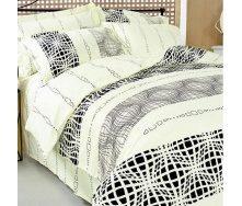 Комплект постельного белья ТЕП 602 Графика Полуторный бязь 215х150 см