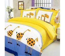 Комплект постельного белья ТЕП 604 Жирафы Полуторный бязь 215х150 см