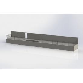 Монтаж металевого огородження