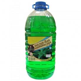 Жидкое мыло Волшебница алое-зеленое 5 л