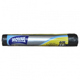 Пакеты для мусора Novax 60 л 15 шт