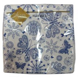 Салфетки Luxy Бабочки 33x33 20 шт