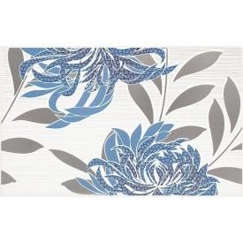 Плитка декоративна Paradyz Acapulco Blue Inserto B 250х400х8,1 мм