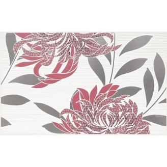 Плитка декоративна Paradyz Acapulco Rosa Inserto B 250х400х8,1 мм