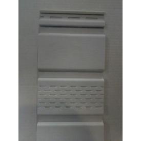 Софіт АйДахо з перфорацією 0,3x2,7 м білий